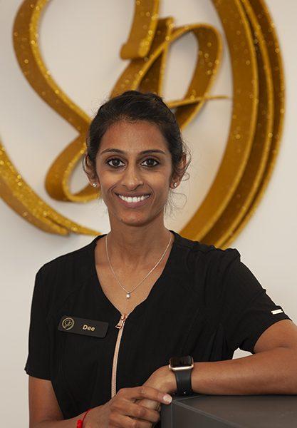 Dee Patel. Dentist and owner of Shine Dental in Ripponden, Sowerby Bridge.